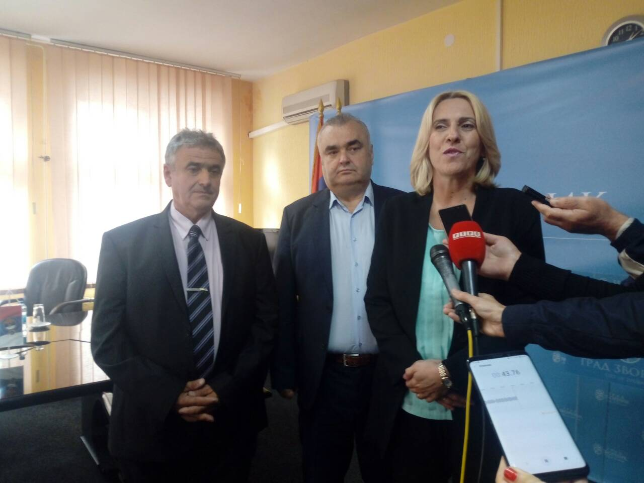 Cvijanovićeva izrazila zadovoljstvo realizovanim projektima