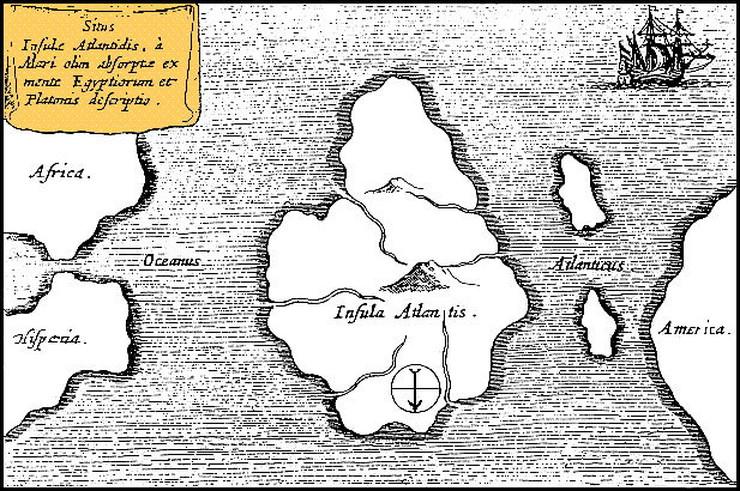 Photo of Teroretičari zavjere tvrde da je Atlantida konačno pronađena