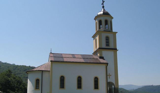 Photo of Osveštan obnovljeni hram Svetih bogootaca Joakime i Ane u Vukšić Polju
