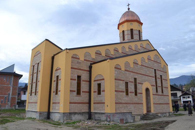 Photo of Srpski patrijarh osveštaće danas hram u Bihaću