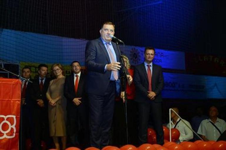 Dodik pozvao Srbe da u FBiH podrže srpsku listu