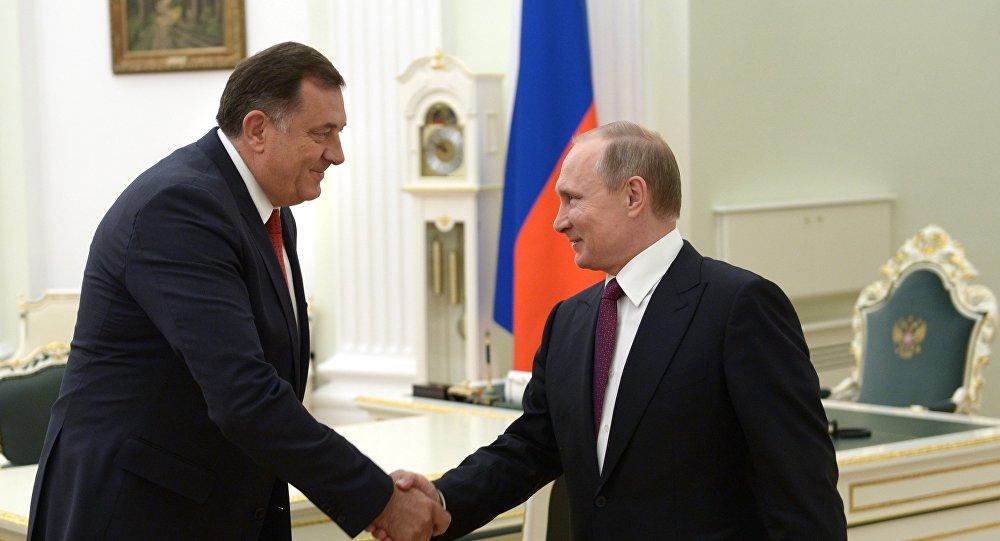 Dodik za nedjelju dana kod Putina