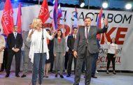 Dodik: Ideja SNSD-a saobraćajna i politička integracija sa Srbijom