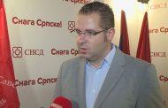 Kovačević: Opozicija prešla svaku mjeru i postala prijetnja za građane Srpske