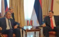 Srpska veoma zahvalna Rusiji za principijelan stav u pogledu afirmacije Dejtonskog sporazuma