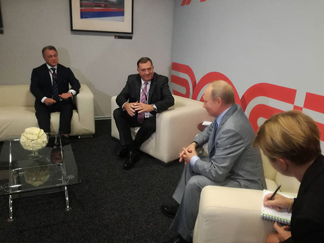 Vladimir Putin poželio Dodiku uspjeh na predstojećim izborima