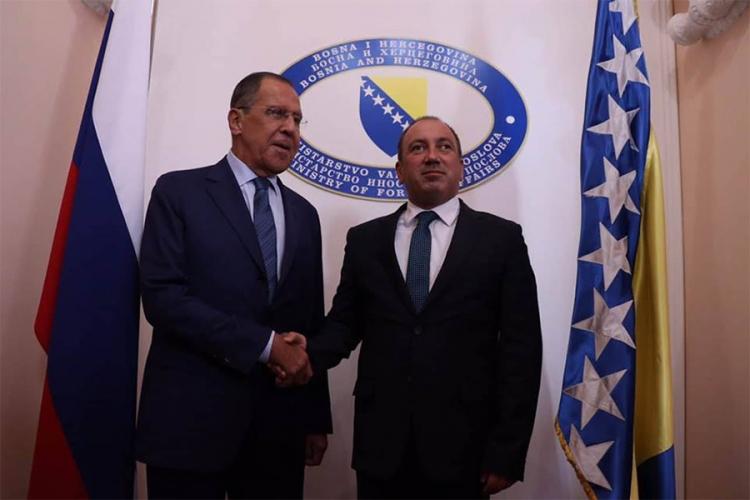 Photo of Zahvalnost Lavrovu na principijelnim stavovima