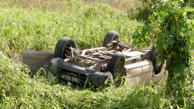 Povrijeđen pijani mladić u slijetanju vozila sa puta