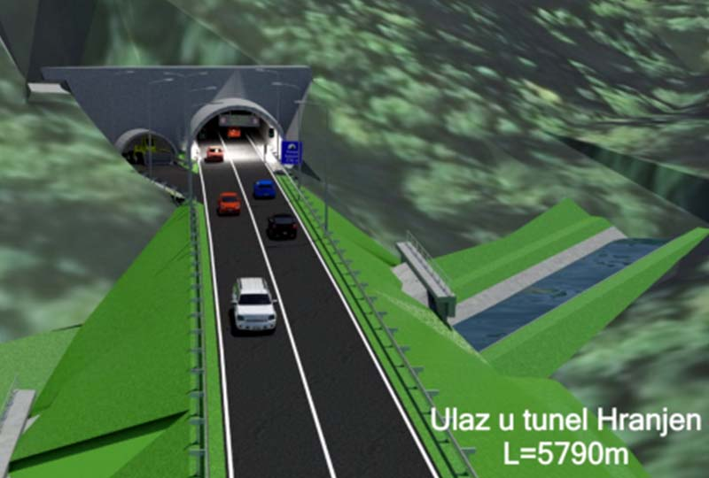 Photo of Potpisan ugovor o izgradnji tunela Hranjen