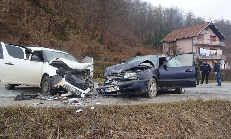 U udesu učestvovao vozač sa 2,8 promila alkohola u organizmu