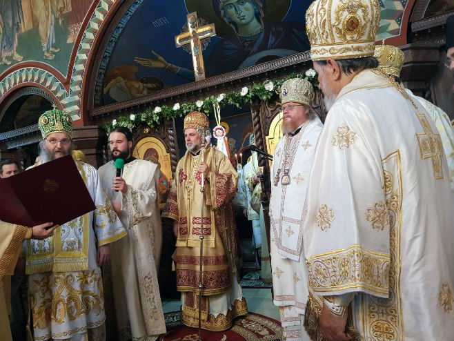 Ustoličen vladika Grigorije (foto)