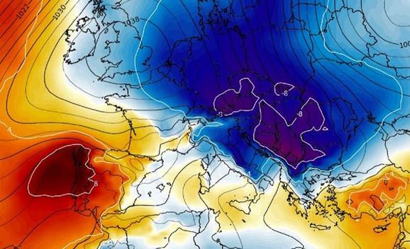 Photo of Talas ledenog arktičkog vazduha stiže u Evropu
