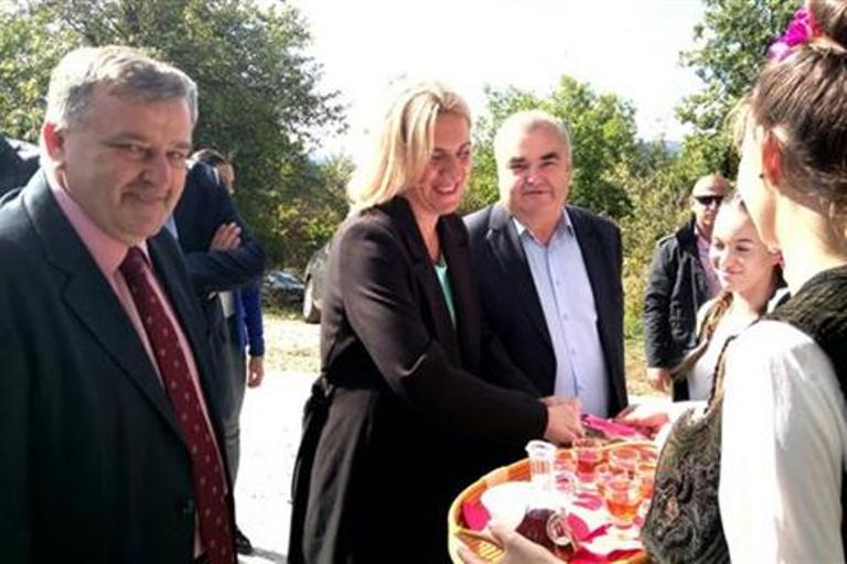 Željka Cvijanović počela posjetu Zvorniku