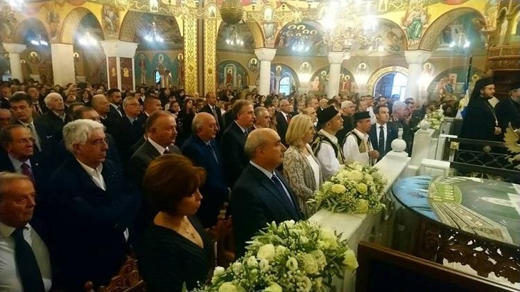 Photo of Cvijanovićeva na liturgiji i parastosu u Solunu