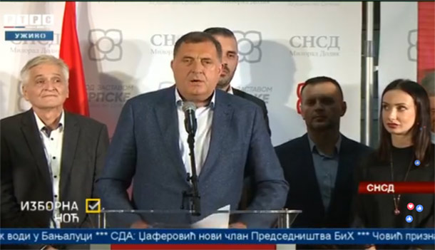 Photo of DODIK: Velika pobjeda koalicije SNSD-DNS-SP (video)
