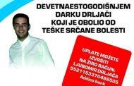 Devetnaestogodišnji Darko Drljača preminuo u Beogradu