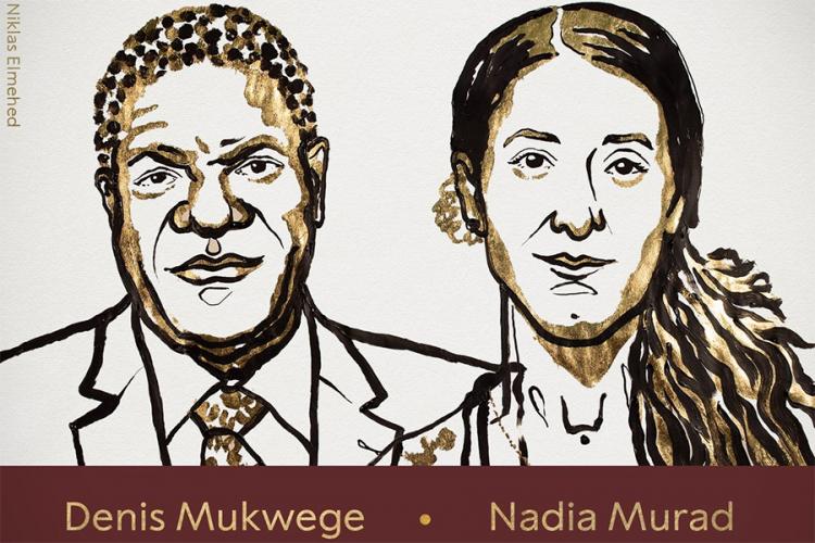 Photo of Mukvege i Muradova dobitnici Nobelove nagrade za mir