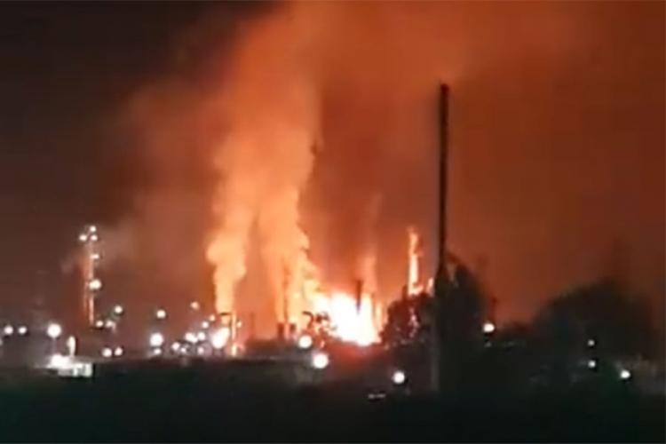 Osam povrijeđenih lica van životne opasnosti, požar lokalizovan (foto/video)
