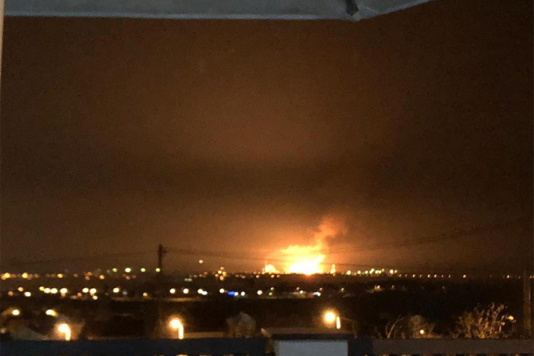 Uzrok nesreće u brodskoj rafineriji curenje goriva