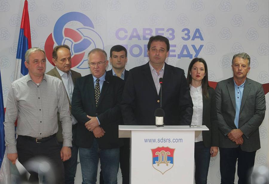 Govedarica: 'Savez za Pobjedu' ne prihvata rezultate izbora bez ponovnog brojanja glasova