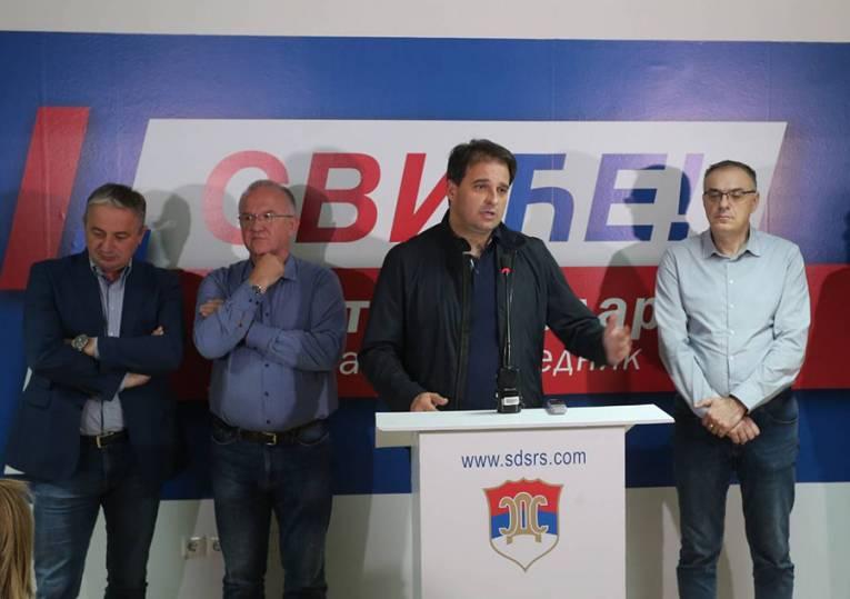 Govedarica: Izvjesni Radić nije povjerenik, član je SDS-a od 2015. godine i nisam ga ja učlanio u stranku