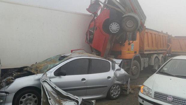 Photo of Šest osoba poginulo u lančanim sudarima na autoputu Beograd – Niš