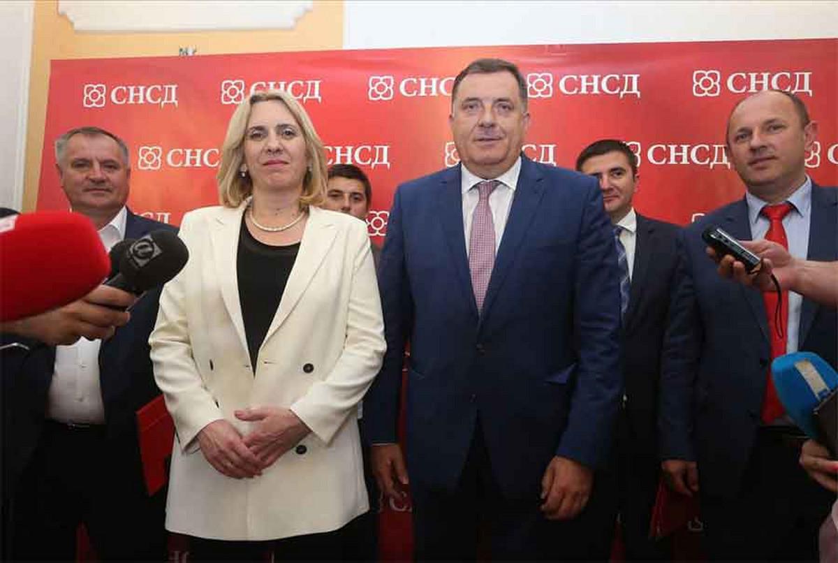 Kusturica i Demokratski front čestitali pobjedu Dodiku i Cvijanovićevoj