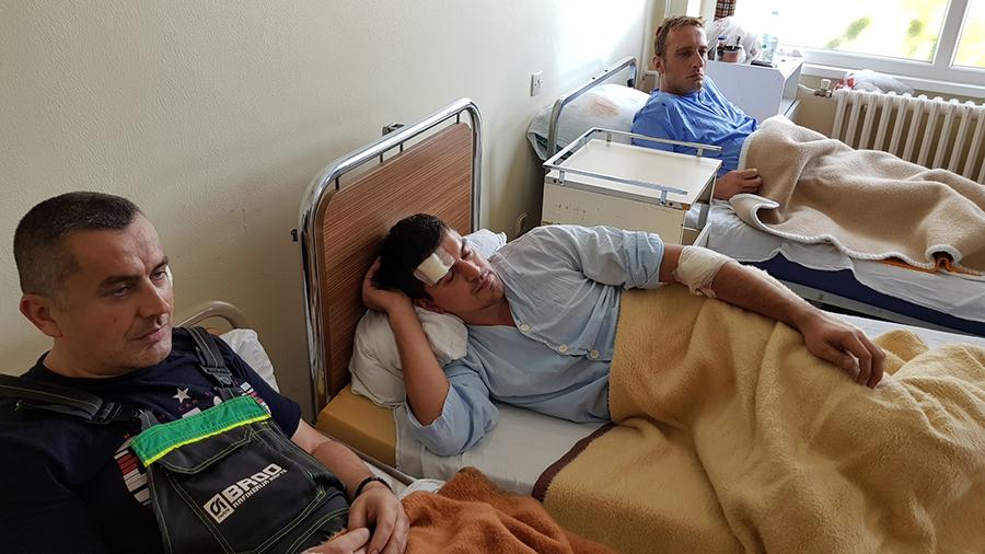 Povrijeđeni radnici Rafinerije otpušteni iz bolnice
