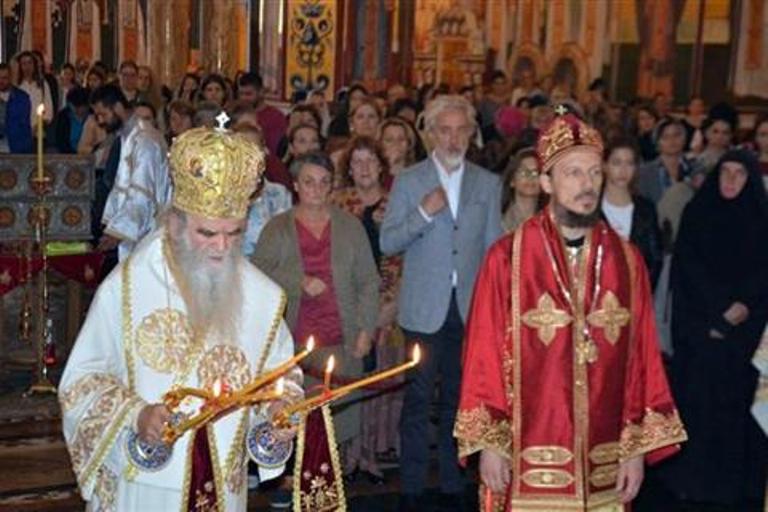 Photo of Mitropolit Amfilohije i vladika Dimitrije se pomolili za jedinstvo Crkve