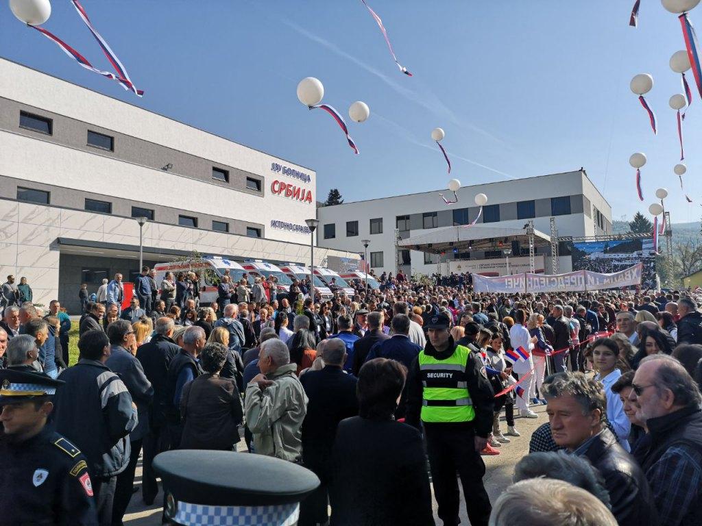 """Photo of Otvorena novoizgrađena bolnica """"Srbija"""" (foto)"""