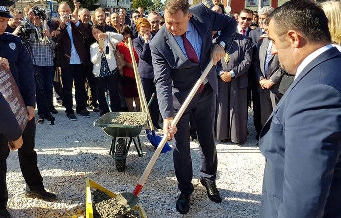 Photo of U Vlasenici položen kamen temeljac za policijsku stanicu i studentski dom (foto)
