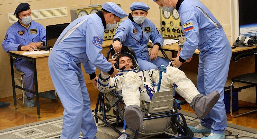 """Photo of Objavljene slike nasmijane posade """"Sojuza"""""""