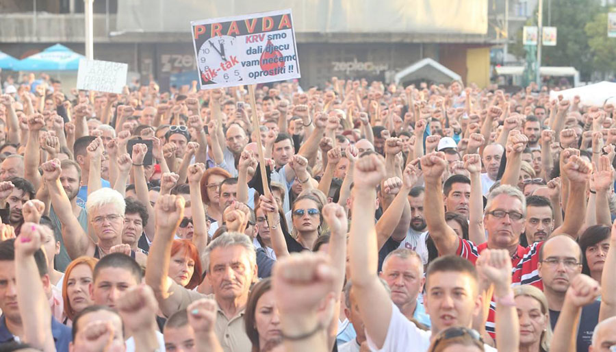 "Photo of Grupa ""Pravda za Davida"" pred okupljanje: Ne dajte da nas isprovociraju"