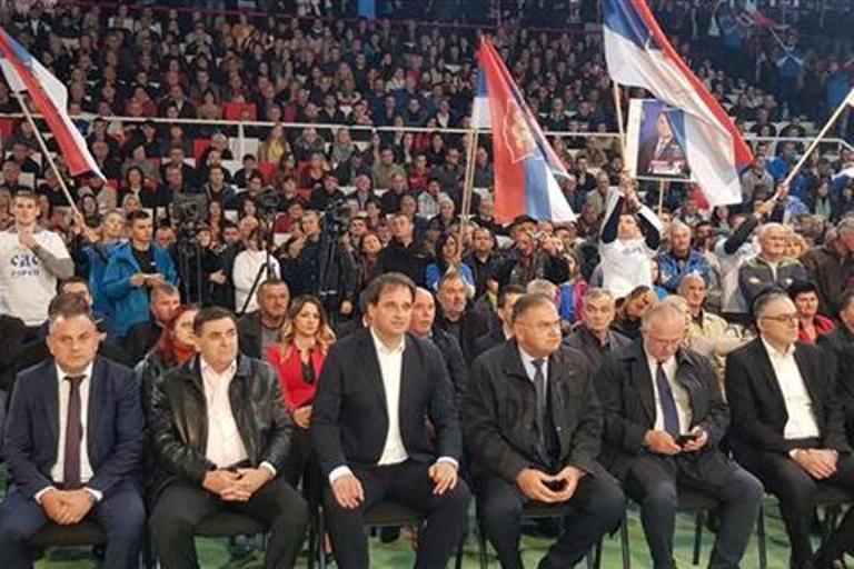 Iz Doboja se u pobjedničkom ambijentu šalje poruka da RS pripada narodu