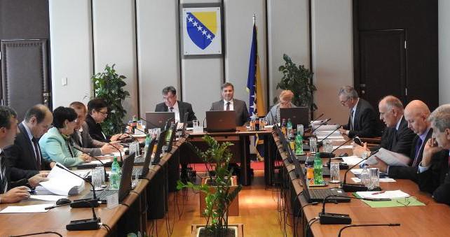 Otkazana sjednica Savjeta ministara