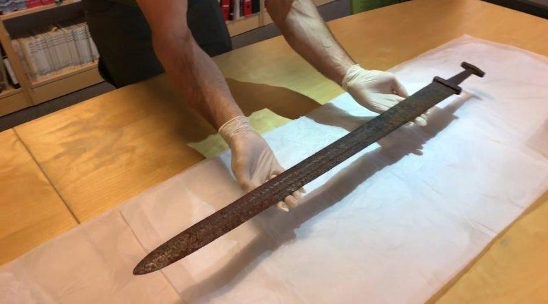 Osmogodišnja djevojčica pronašla mač star 1.500 godina