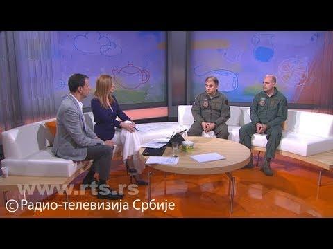 """Photo of Srpski piloti objavili snimke iz kokpita: """"Ovako smo pozdravili Putina"""""""