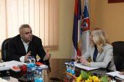 Gradonačelnik Stevanović i ministar Trivić razgovarali o srednjem obrazovanju u Zvorniku