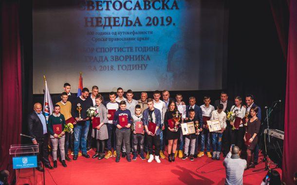 Vasilije Vujičić i Julijana Eleković sportista i sportistkinja godine grada Zvornika za 2018. godinu