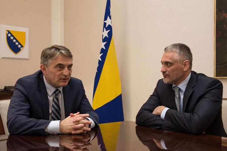 Photo of Čedomir Jovanović savjetnik Željka Komšića