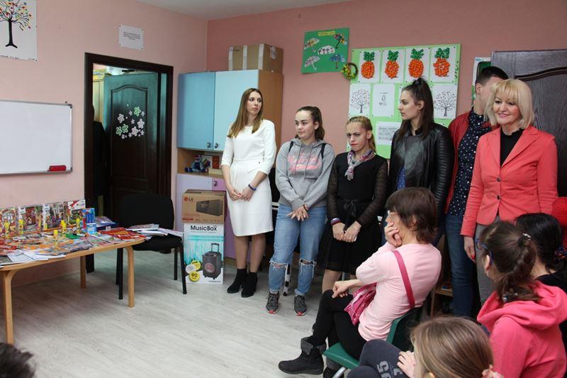 """Photo of Donacija SŠC """"Petar Kočić"""" Centru za podršku djeci sa smetnjama u razvojuDonacija SŠC """"Petar Kočić"""" Centru za podršku djeci sa smetnjama u razvoju"""