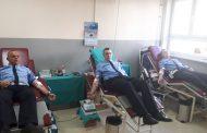 Zvornički policajci dobrovoljno darivali krv