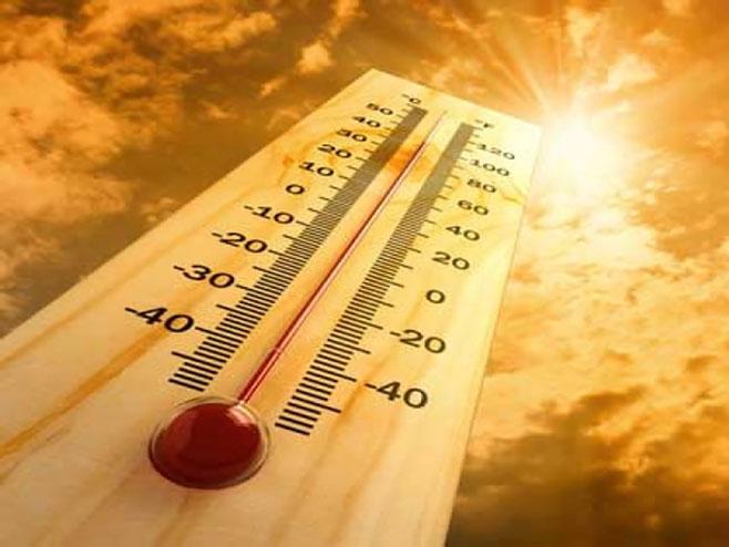 Upozorenje RHZ: Narednih dana veoma toplo, temperatura do 40 stepeni