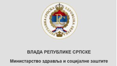 Photo of Epidemiološka situacija u Srpskoj: 304 zaraženih, 10 lica umrlo