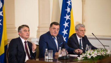 Photo of Dodik protiv priznanja samoproglašenog Kosova, Džaferović i Komšić glasali za
