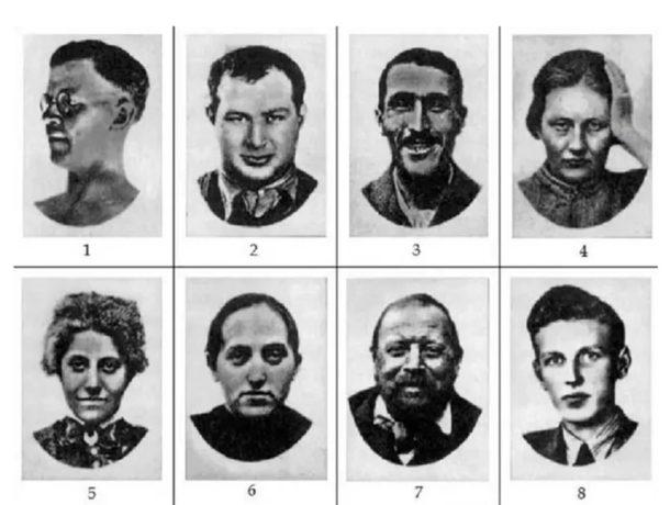 Dobro pogledajte lica ovih osam ljudi i izaberite ono koje vas najviše uznemiruje i izaziva mučninu i strah.