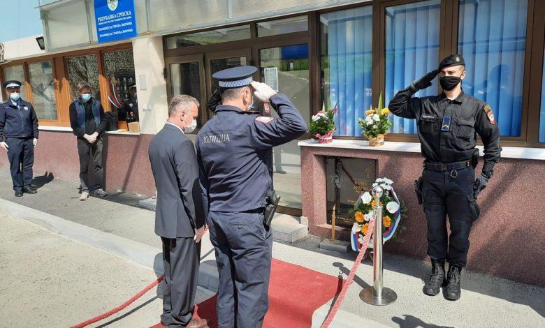 Photo of Obilježena godišnjica od terorističkog napada na Policijsku stanicu Zvornik