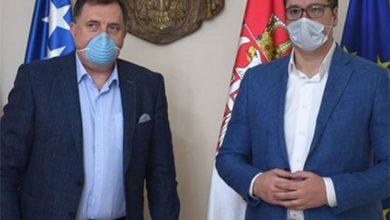 Photo of Dodik sutra sa Vučićem