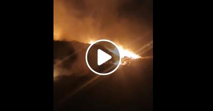 Photo of Gori stara deponija u Karakaju (video)