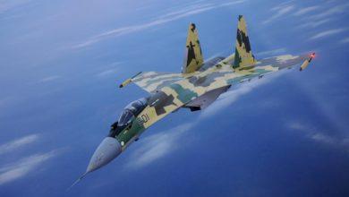 """Photo of """"SU-35"""" se skoro očešao o američki """"Posejdon"""" (video)"""